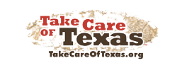 Texas Recycling Resources Take Care of Texas Logo