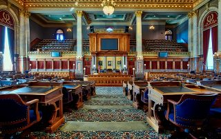 Texas Legislative Chamber
