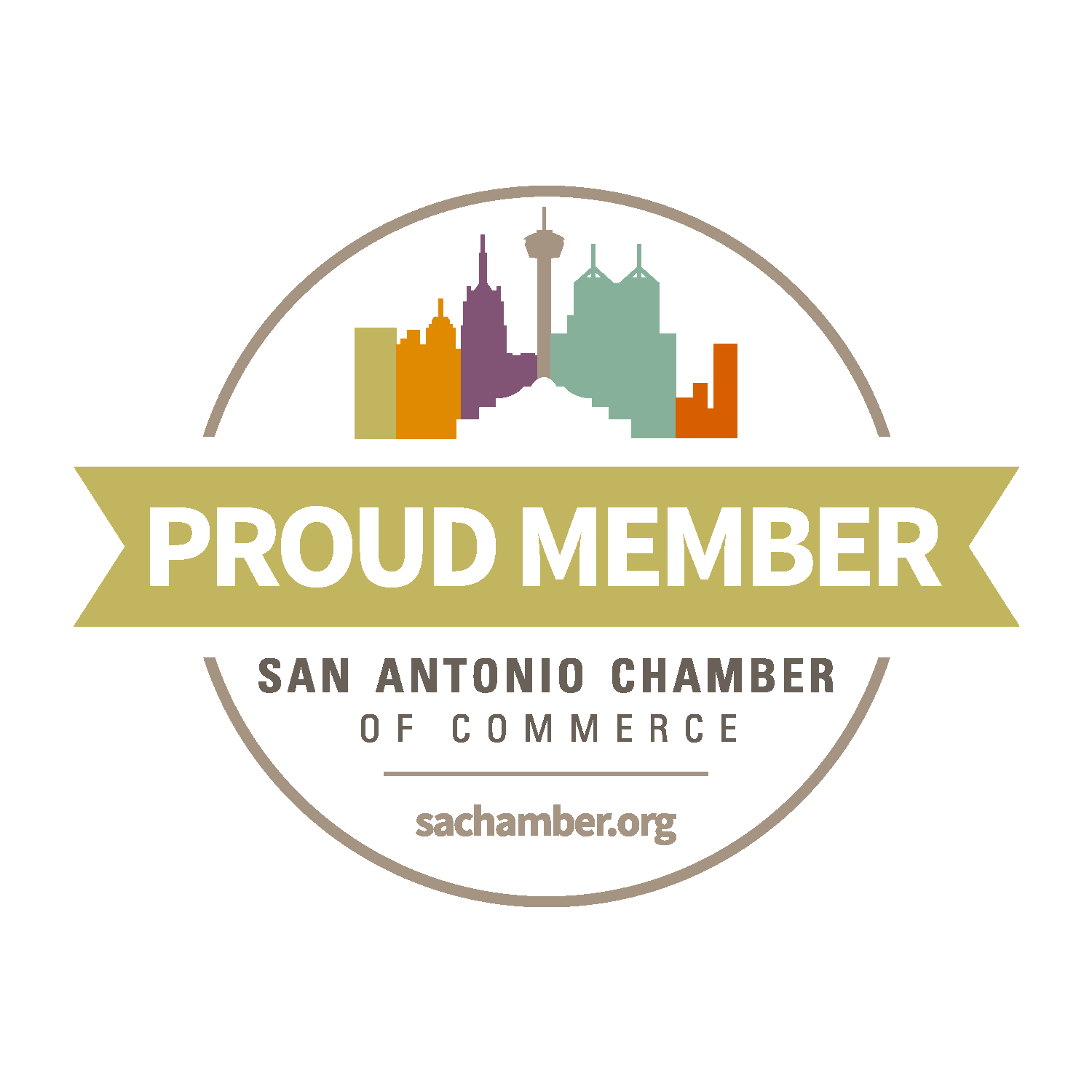 SA Chamber of Commerce Member Sticker